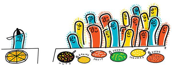 肠道菌群至关重要 关键看你吃什么