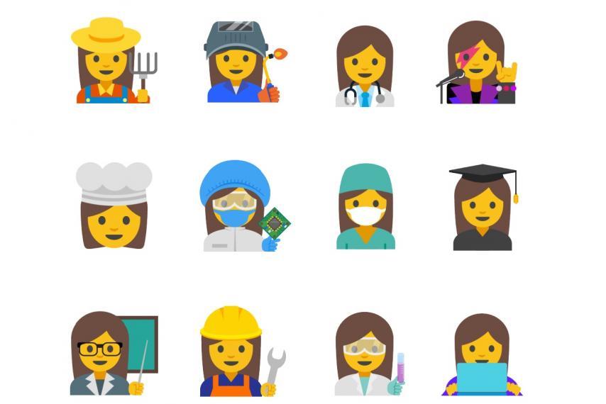 摘要:近日,谷歌公司设计了一组新的女性emoji表情,包括农夫,厨师和图片